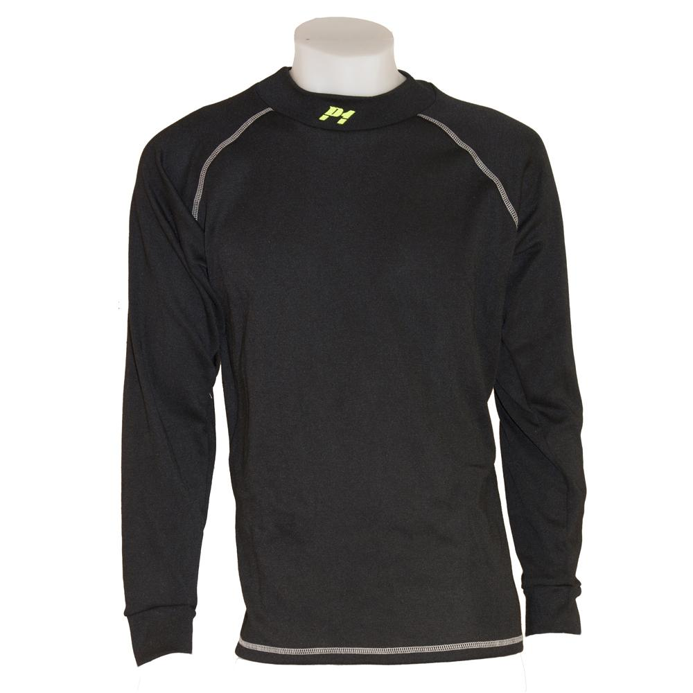 P1 Racewear Standard Fit Nomex Top in Black