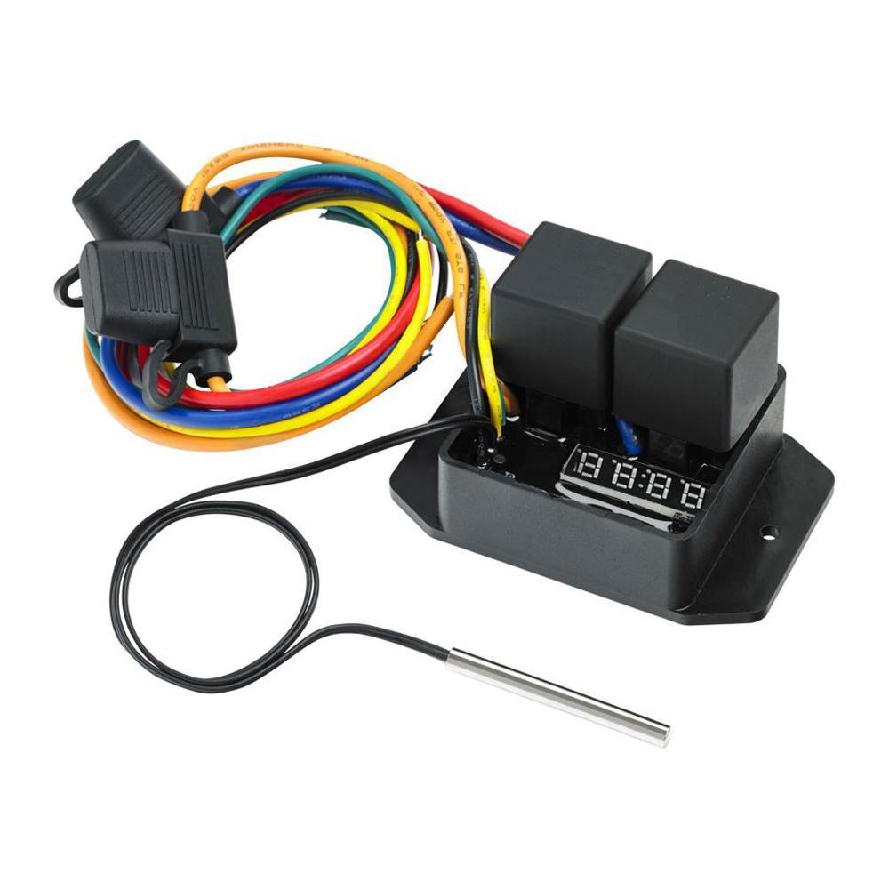 Digital Thermatic Radiator Fan Switch 0444 From Merlin