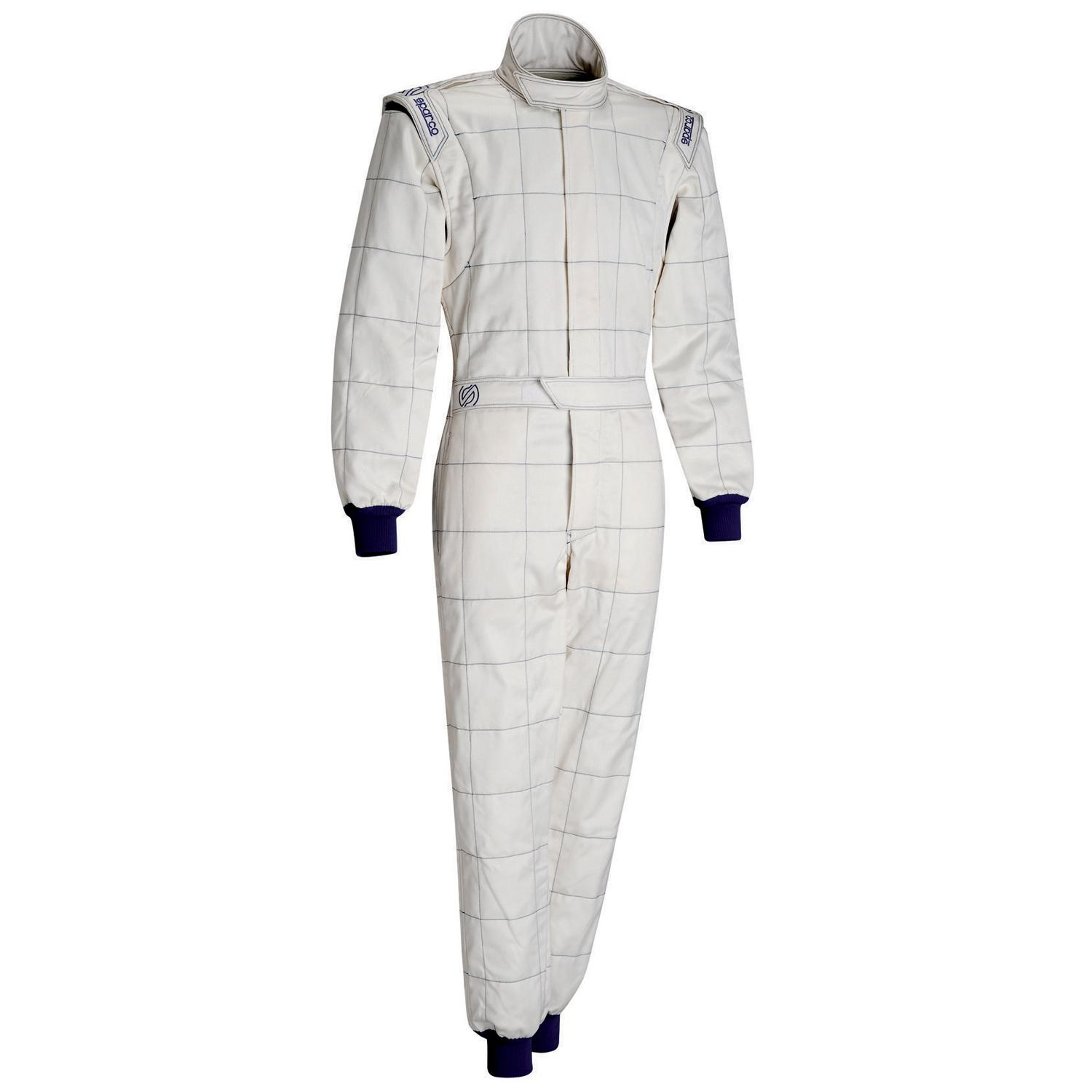 Sparco M-5 Race Suit in White from Merlin Motorsport