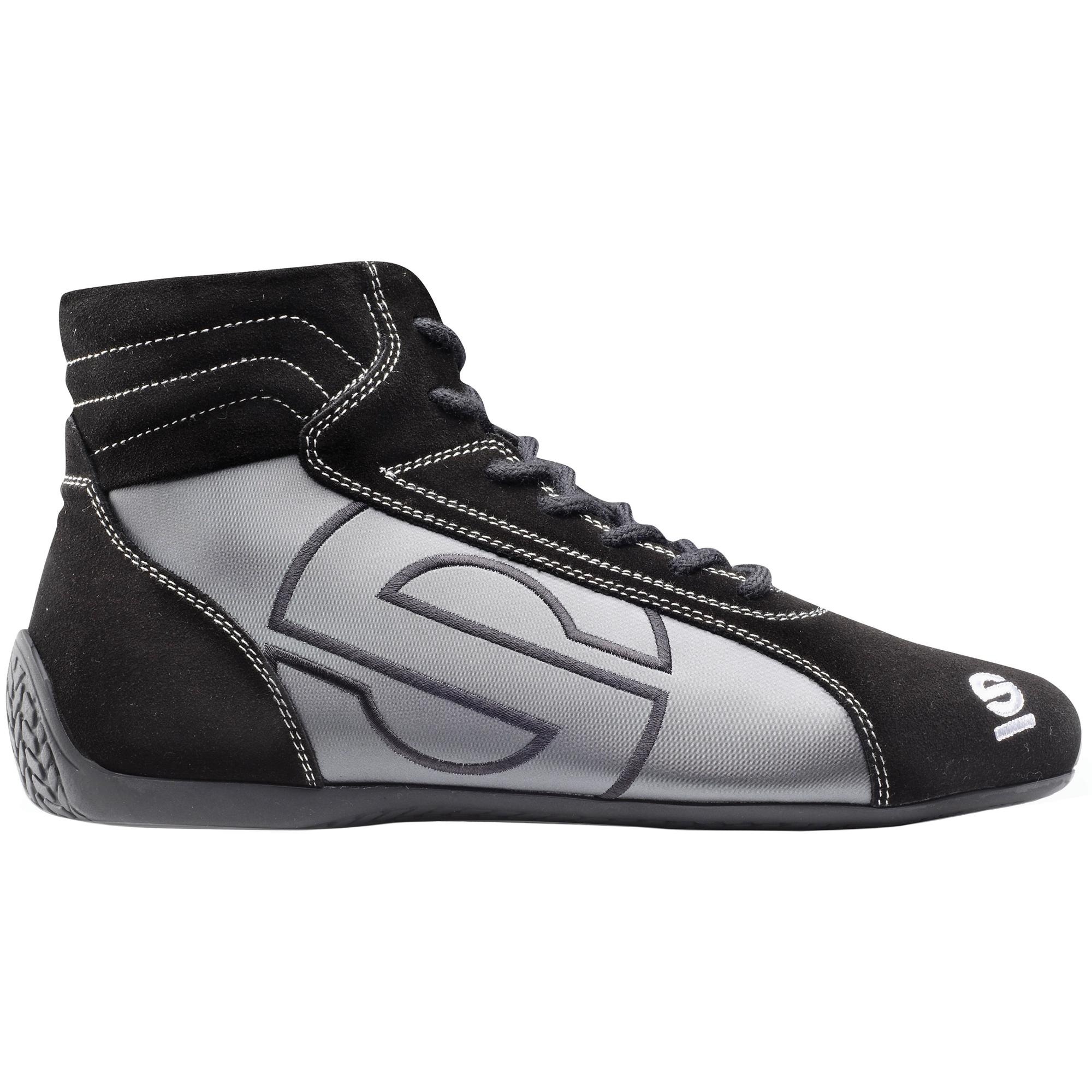 SPARCO SLALOM SL-3 RACE BOOTS BLACK/GREY