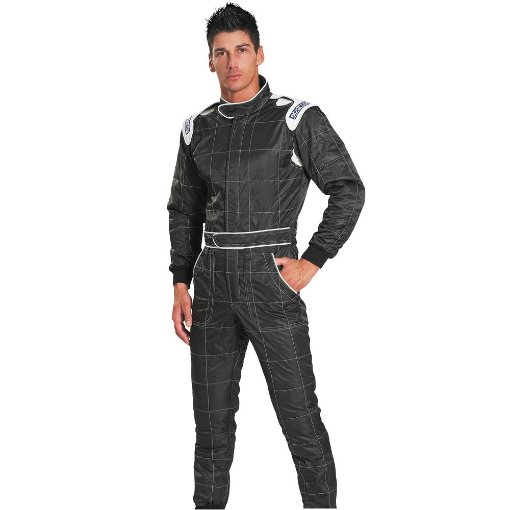 Sparco Rookie Kart Suit Black in Size Small
