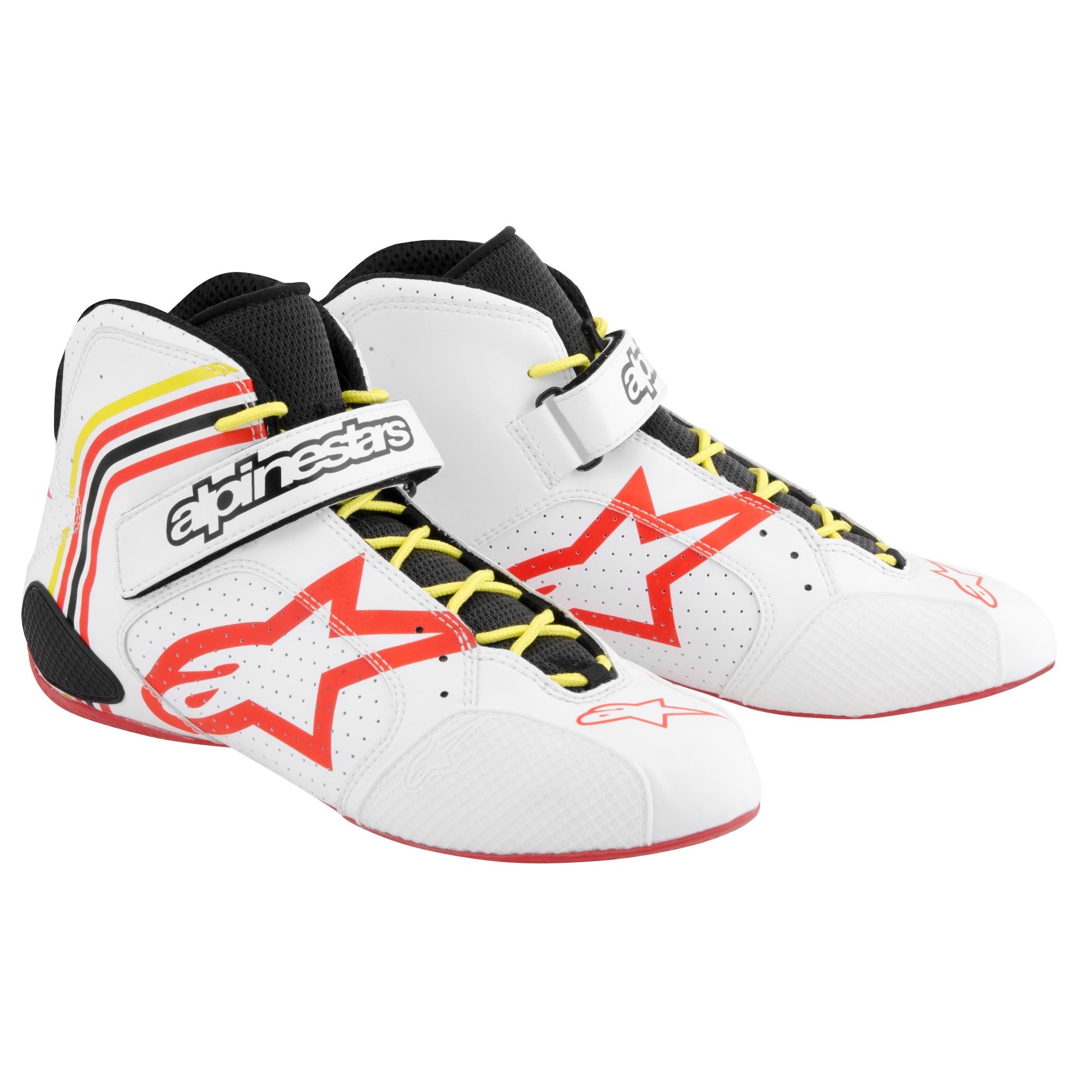aff2367e739 Alpinestars Tech 1-K Kart Boots Limited Edition White from Merlin ...