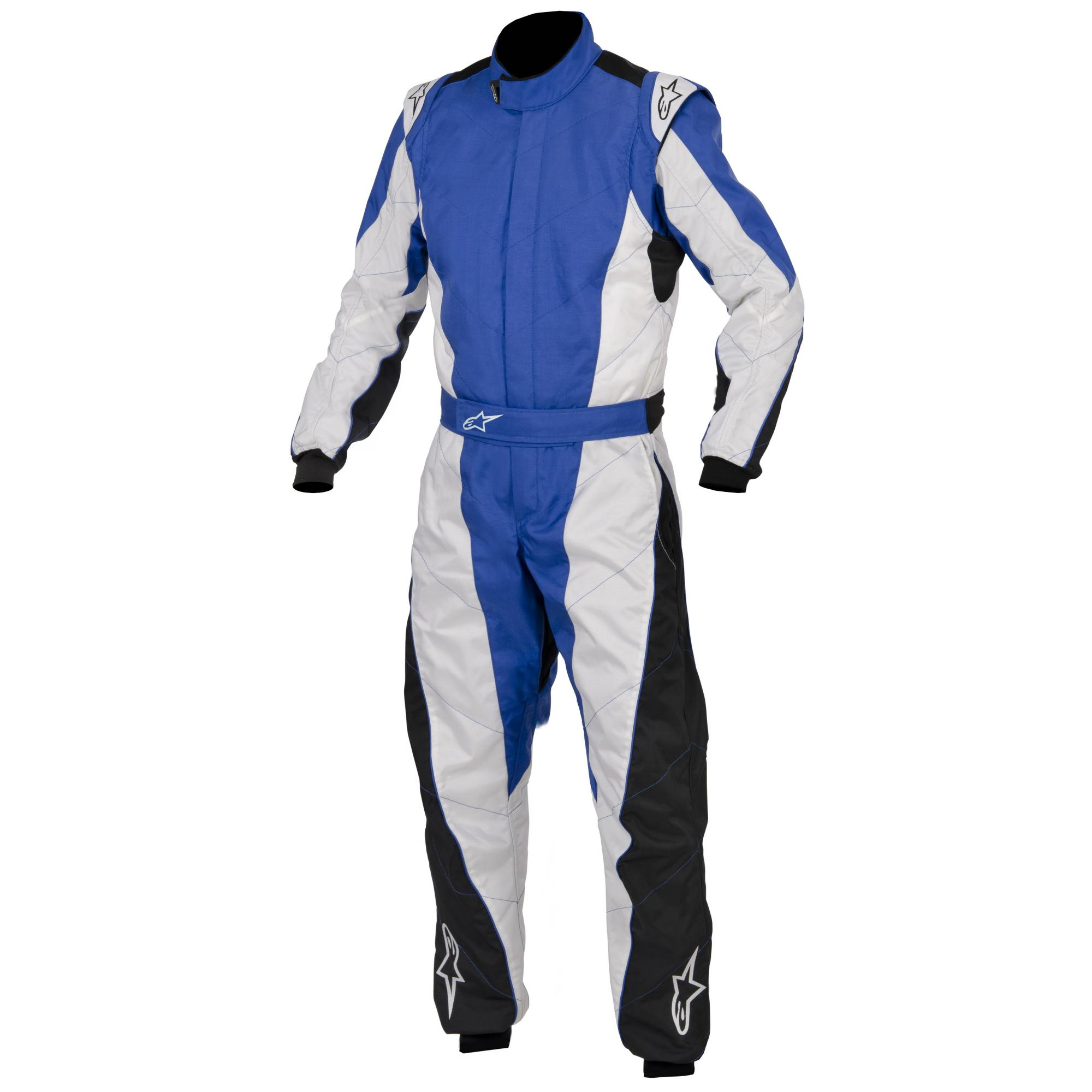 Alpinestars K-MX 5 Kart Suit Blue White