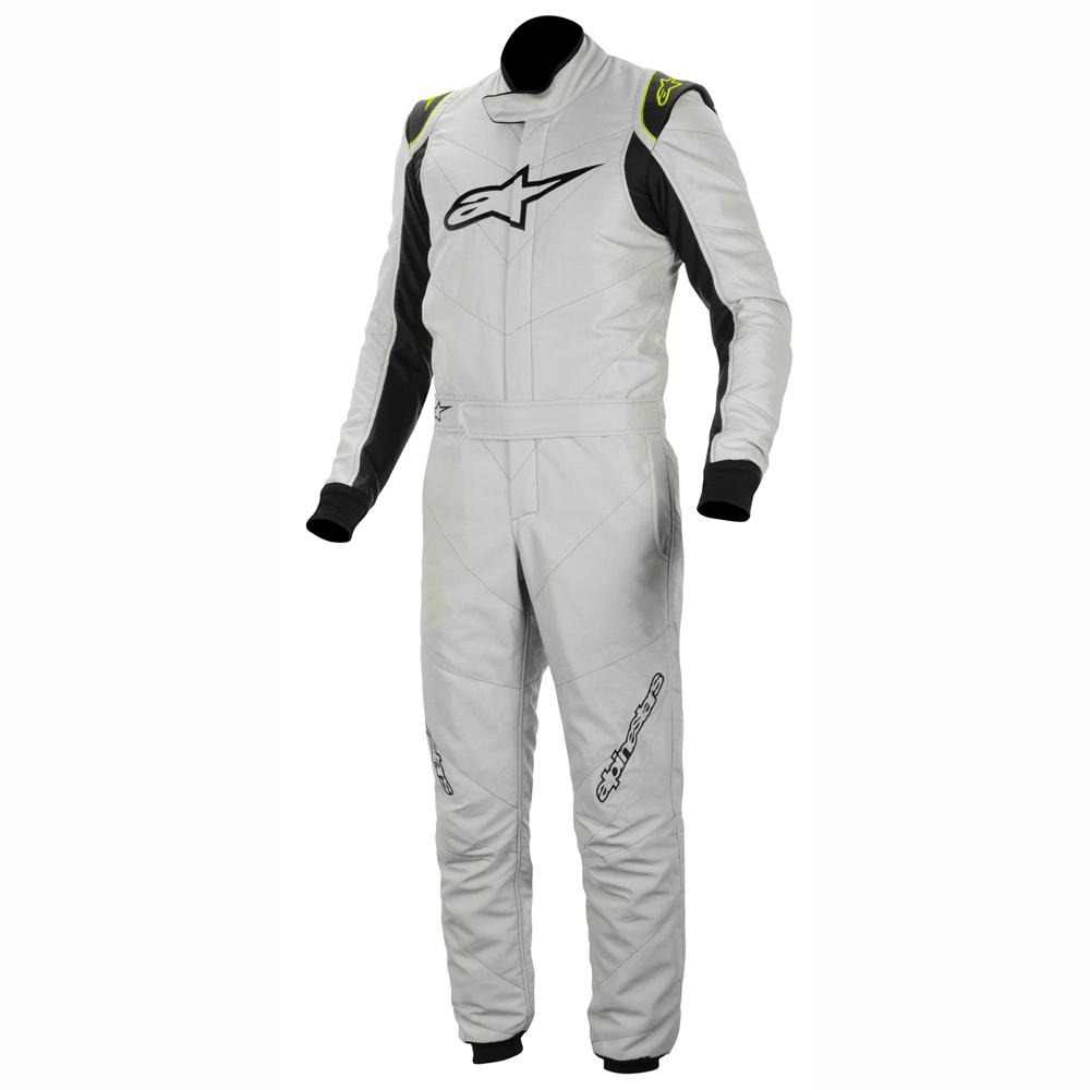 Alpinestars GP Race Nomex Race Suit in Silver