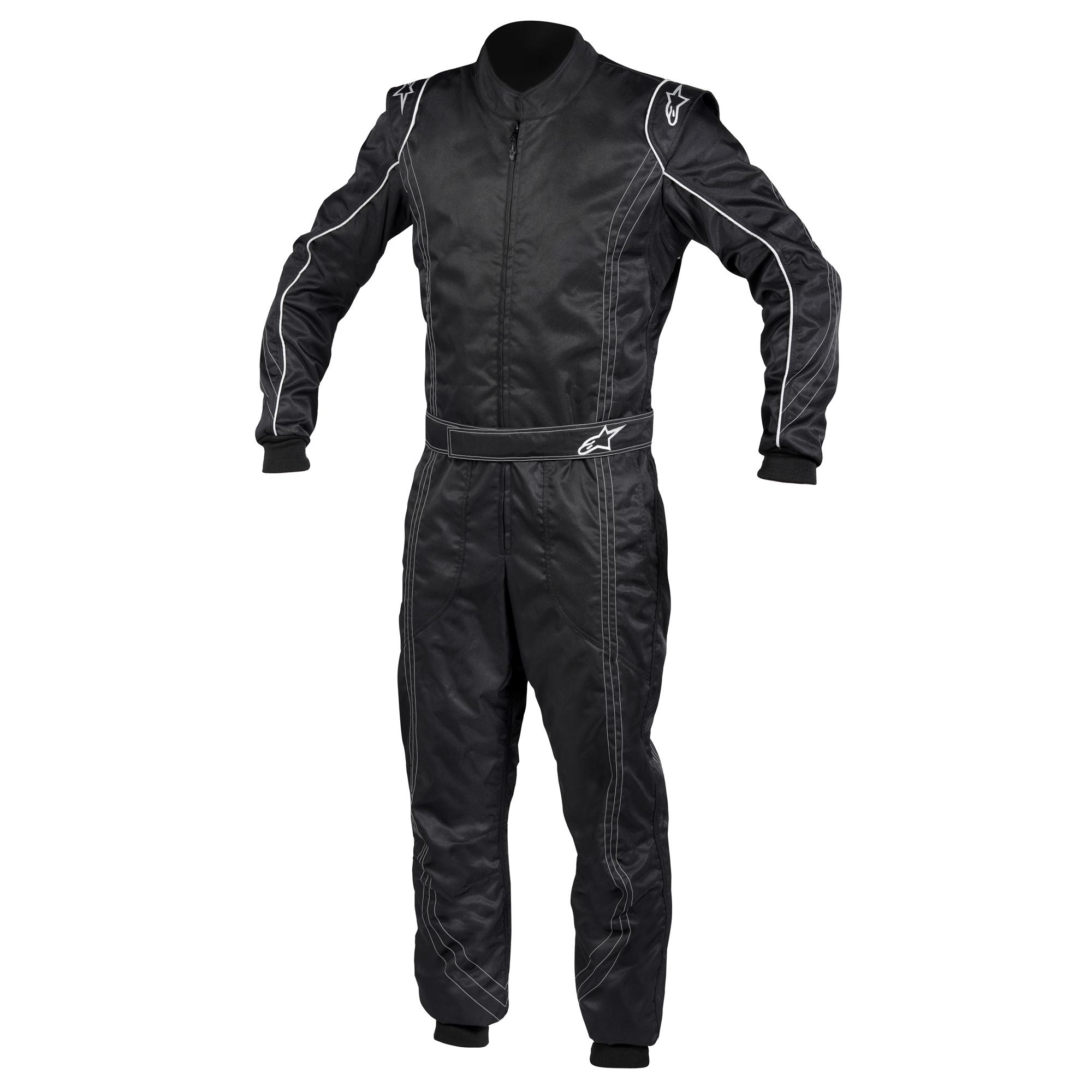 Alpinestars K-MX 9 Kart Suit Black