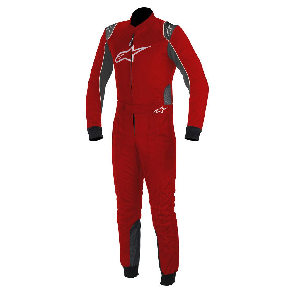 Alpinestars K-MX 9 Kart Suit Red & Anthracite