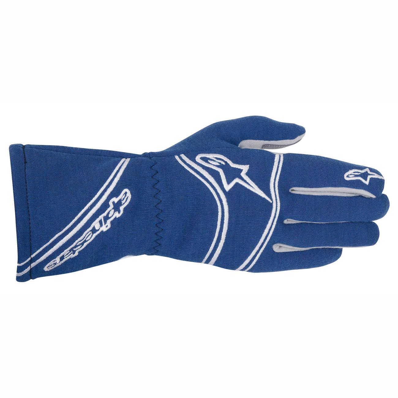 Alpinestars Tech 1-Start Nomex Race Gloves in Blue