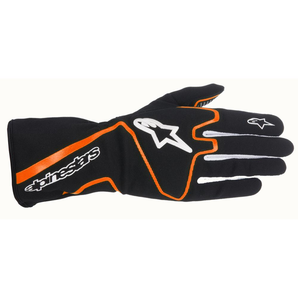 Alpinestars Tech 1-K Race Kart Gloves Black/Fluo Orange