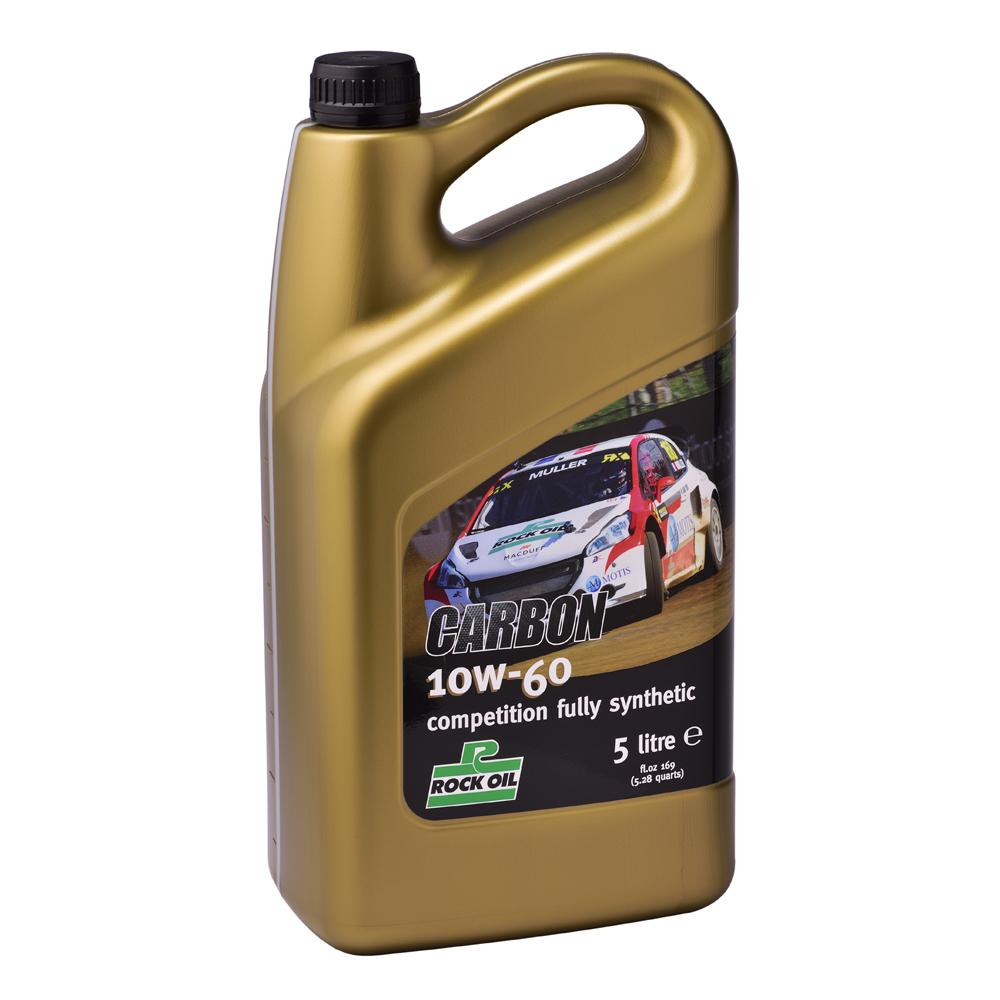 Rock Oil Carbon 10W60 Fully Synthetic Motorsport Engine Oil (5 Litres)