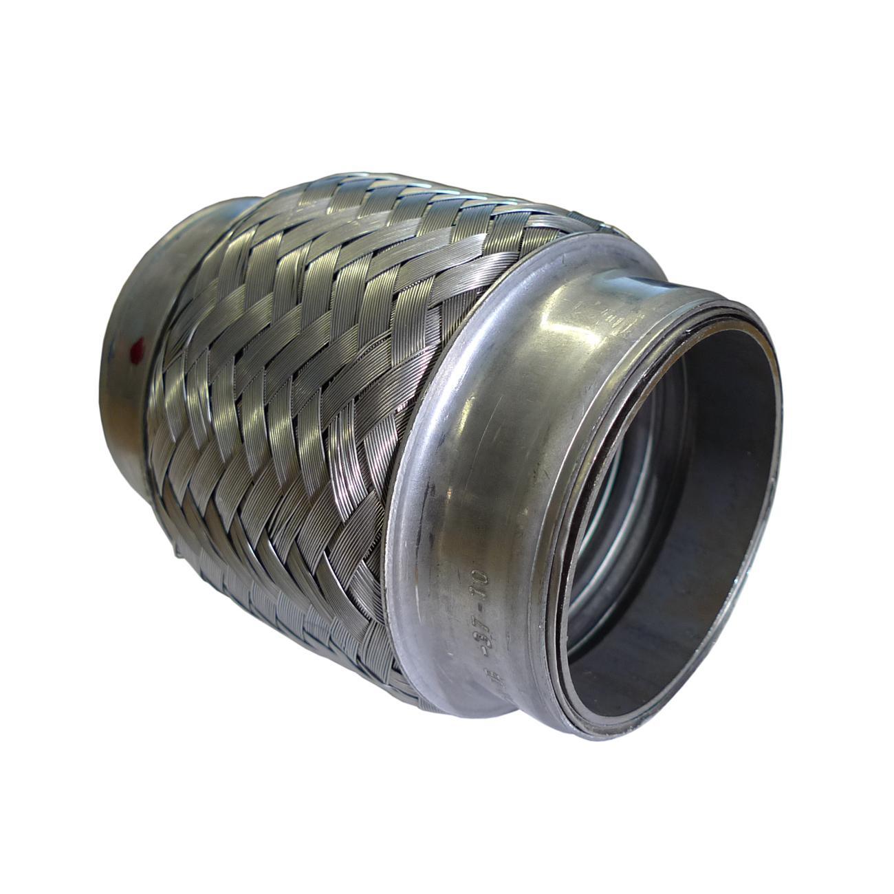 Flexible Pipe For Bladder Lining : Iloc flexible exhaust joint inch long from merlin motorsport