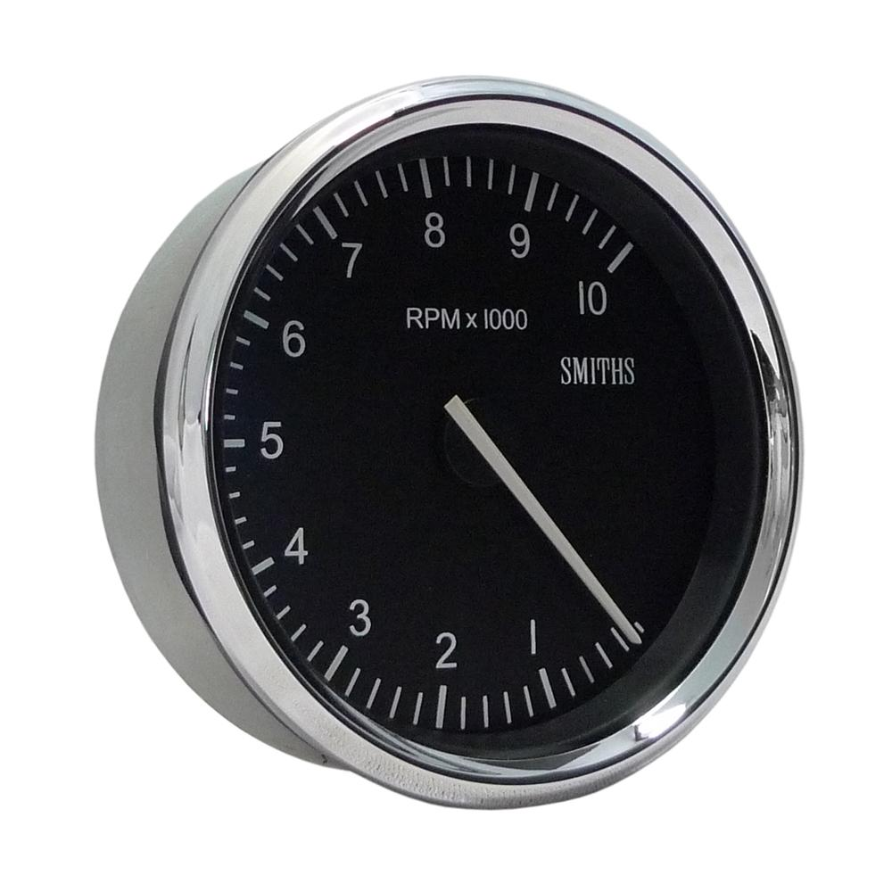 Smiths classic motorsport tacho 80mm from merlin motorsport for Tachometer for electric motor