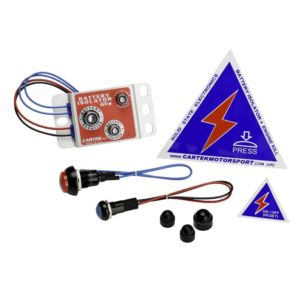 Cartek Gt Solid State Battery Isolator Kit From Merlin
