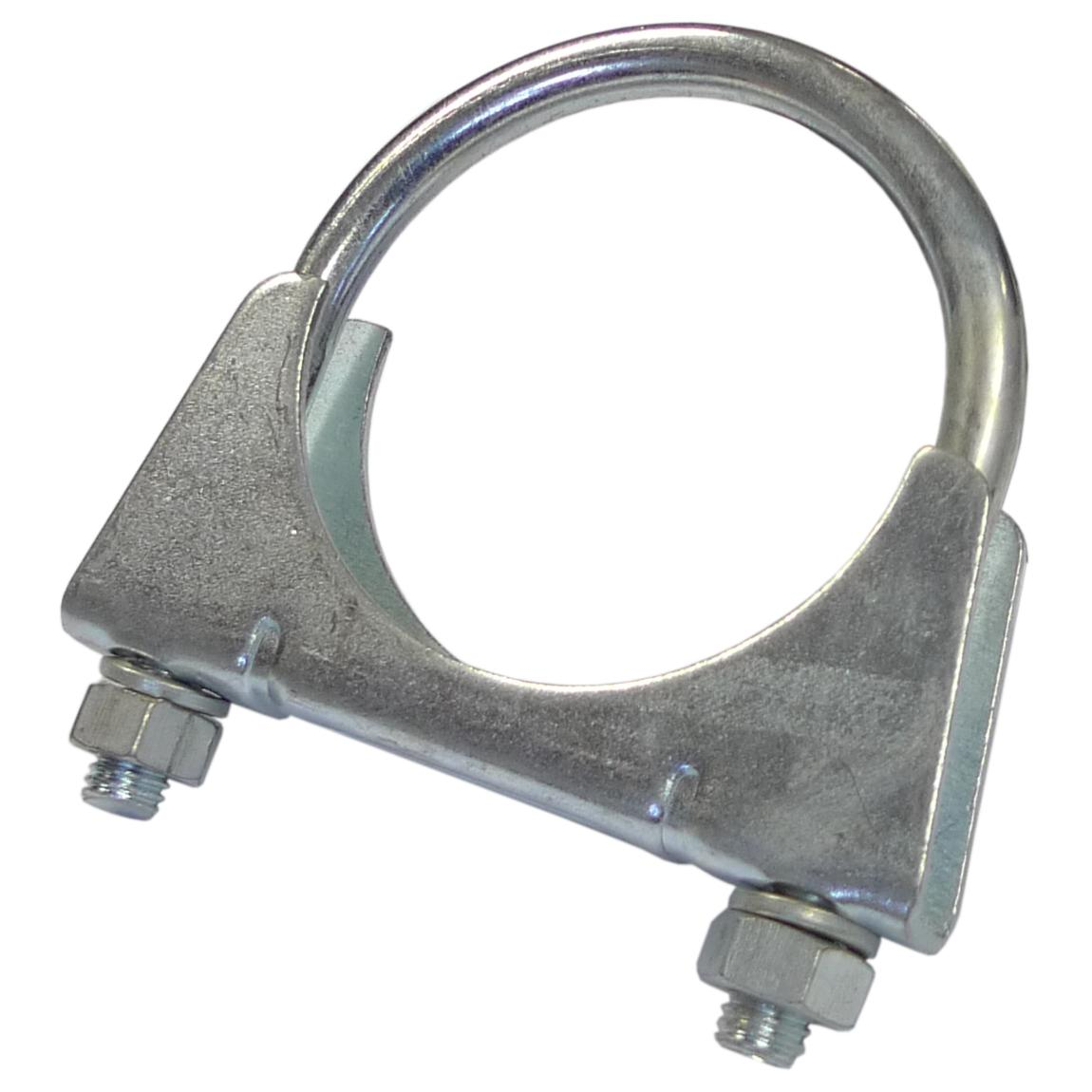 Exhaust Clamp for 60mm (2:3/8 Inch) O D  Pipe