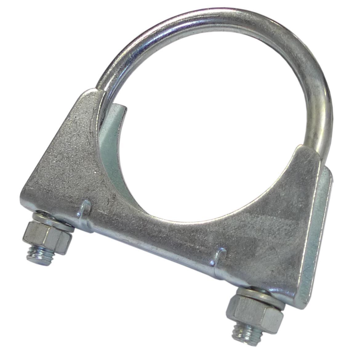Exhaust clamp mm in mild steel from merlin motorsport