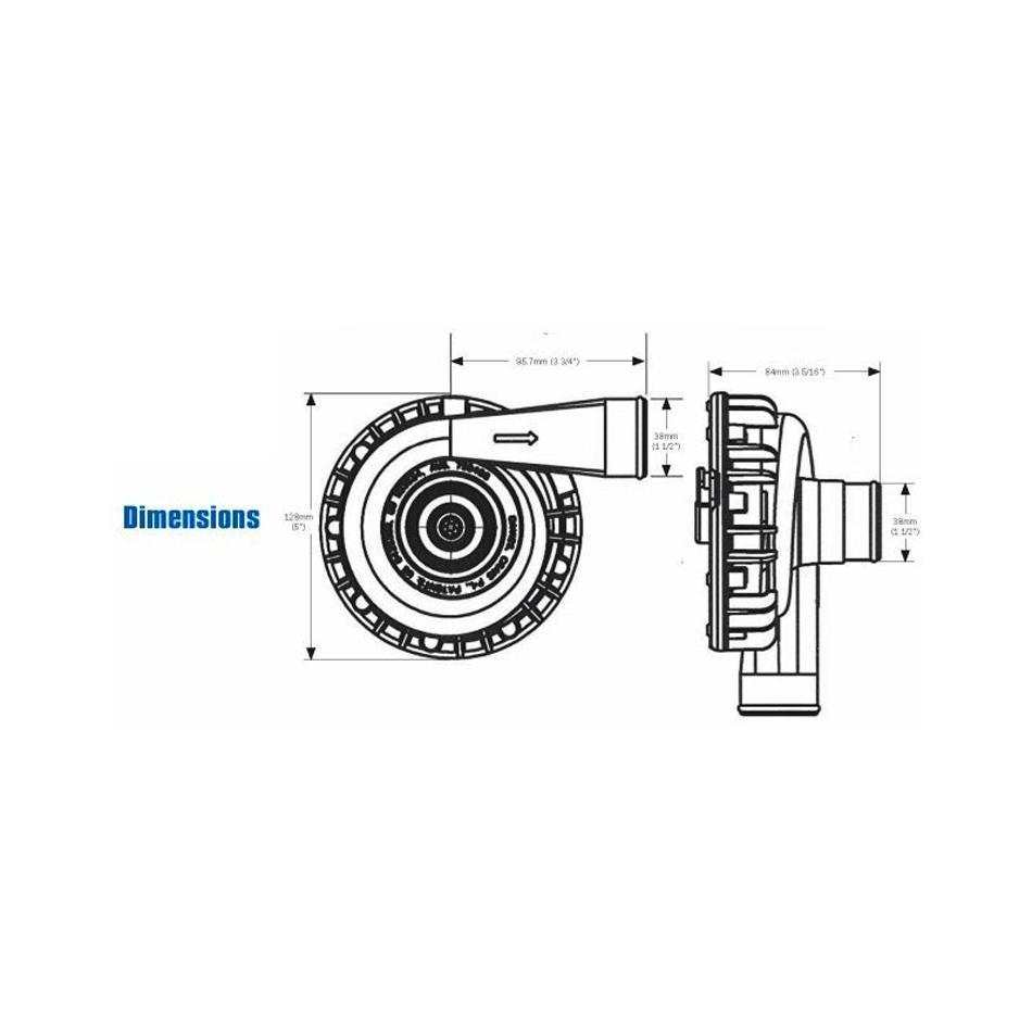 davies craig aluminium electric water pump 8040 from