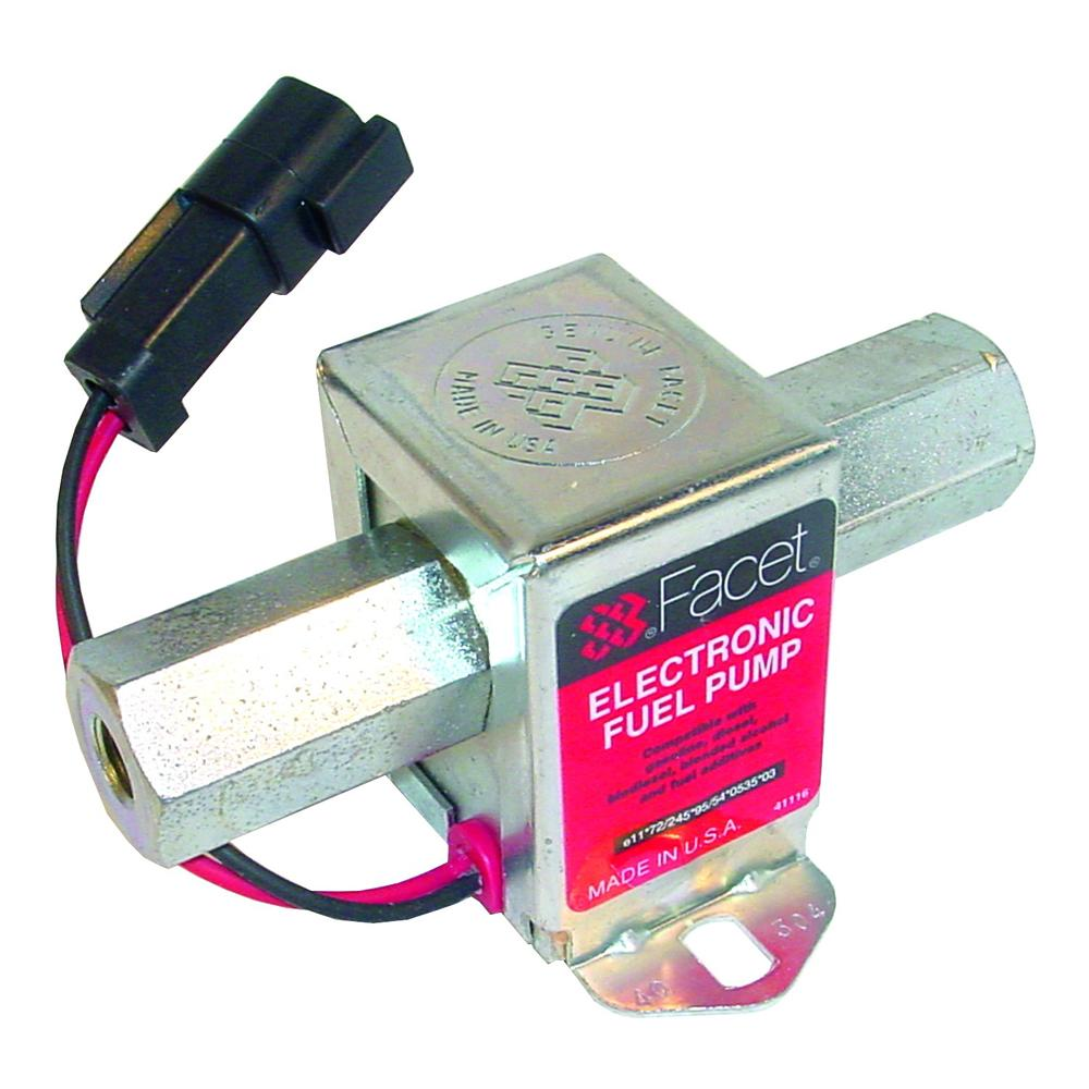 Facet Solid State Electric Fuel Pump 40304 High Flow