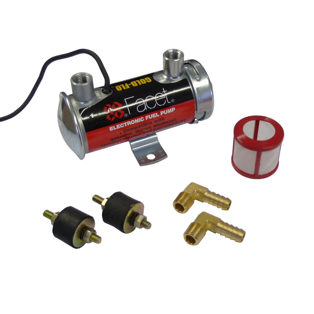 Facet Red Top Electric Fuel Pump Competition Kit From Merlin Motorsport Electrical 65 70 Psi