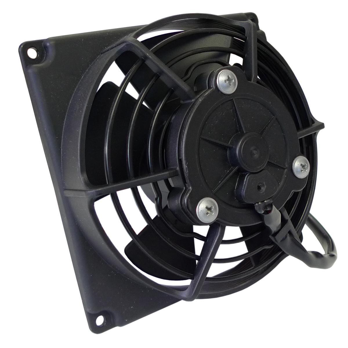 Electric Cooling Fans : Spal radiator fan inch diameter blow