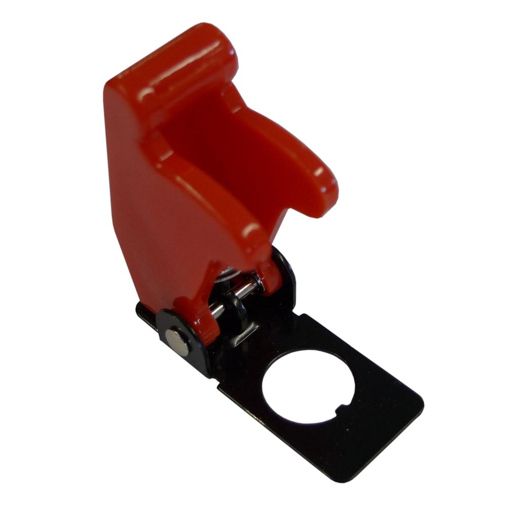 Red Aircraft Style Toggle Switch Cover