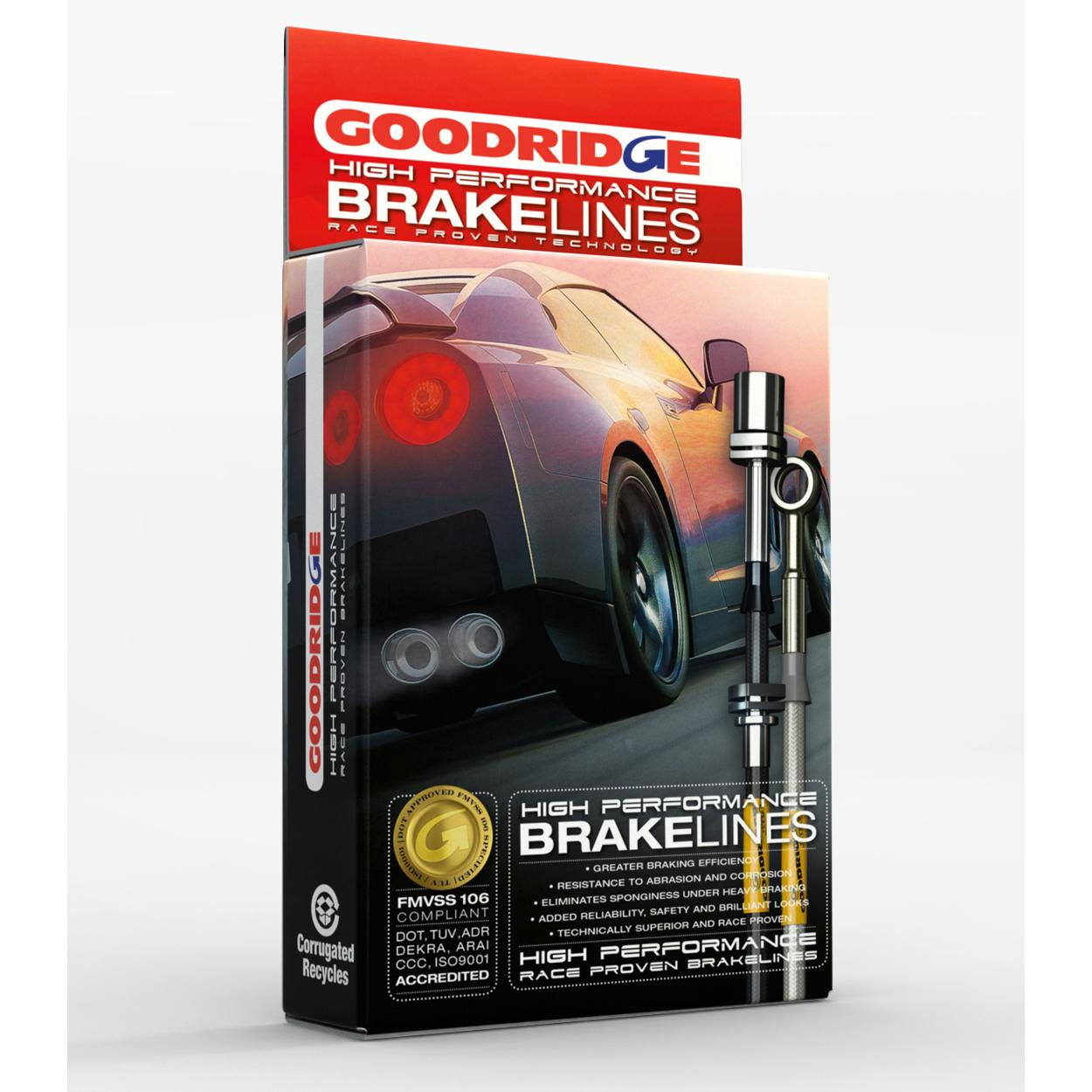 Goodridge Hose Kit For Range Rover (ABS)1990 - 1992