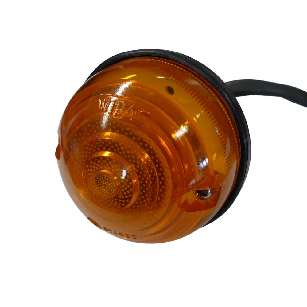 Wipac 3 Inch Amber Light Unit