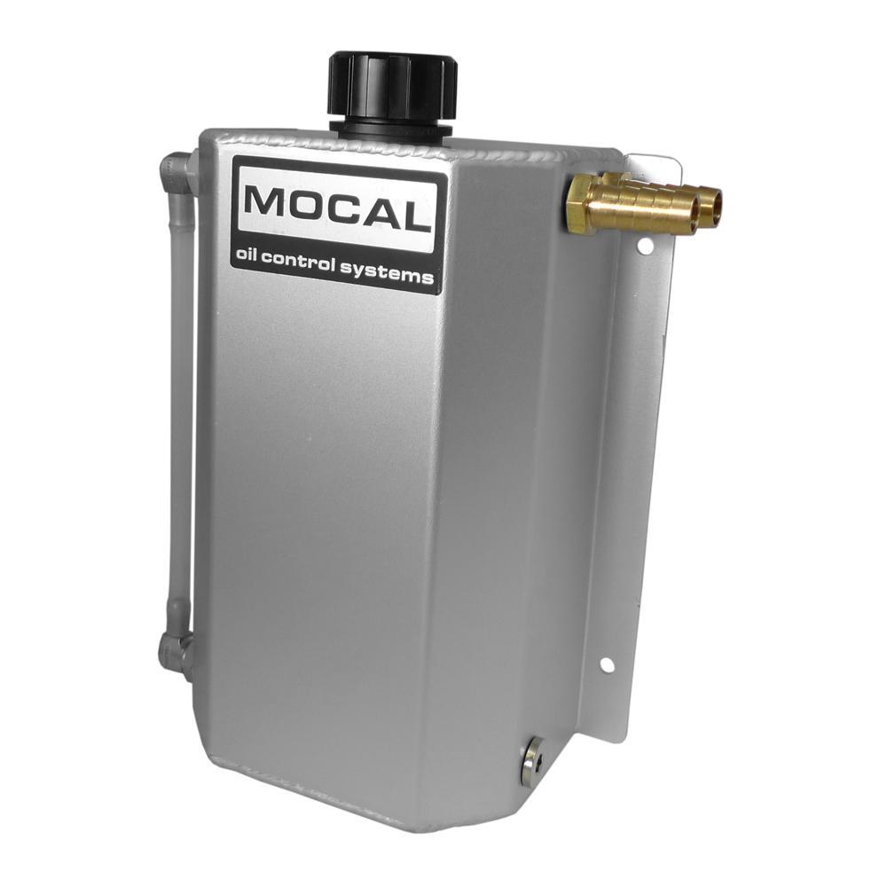 mocal oil catch tank 2 litre brushed aluminum from merlin. Black Bedroom Furniture Sets. Home Design Ideas