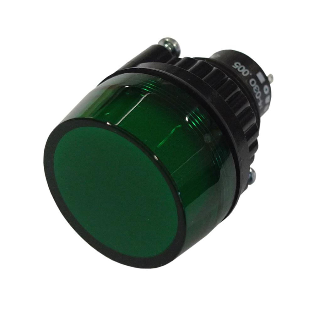 Large Green Warning Light