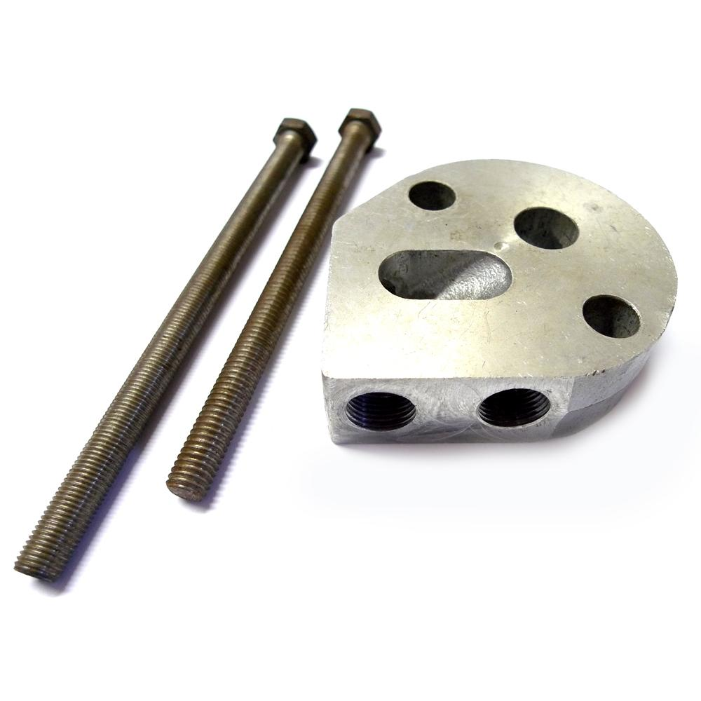 Mocal oil cooler sandwich plate for early type 4 cylinder for Best motor oil for 4 cylinder engines