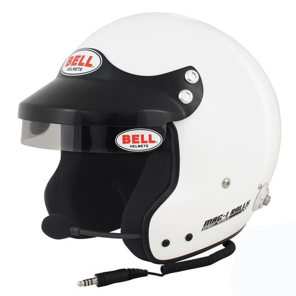 Bell Mag 1 Rally Open Face Helmet FIA 8859-2015 Approved
