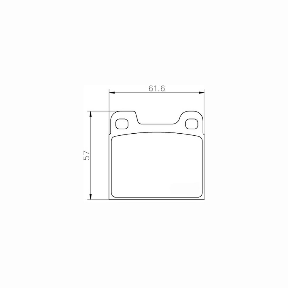 Mintex Racing Brake Pads MDB1089-M1144 For Alfa Romeo/Lancia