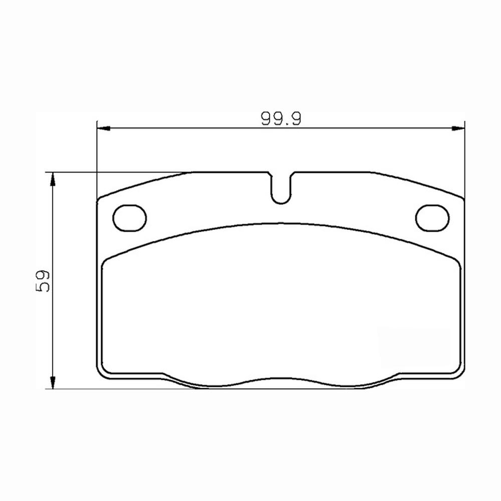 Mintex Racing Brake Pads MDB1141-M1144 For Vauxhall & Opel
