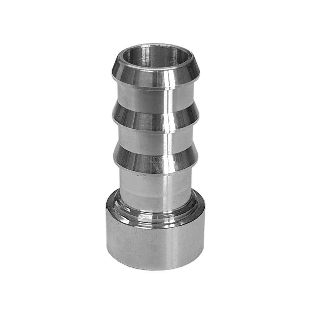 Weld On Alloy Barbed Fitting 6063 Billet Alloy