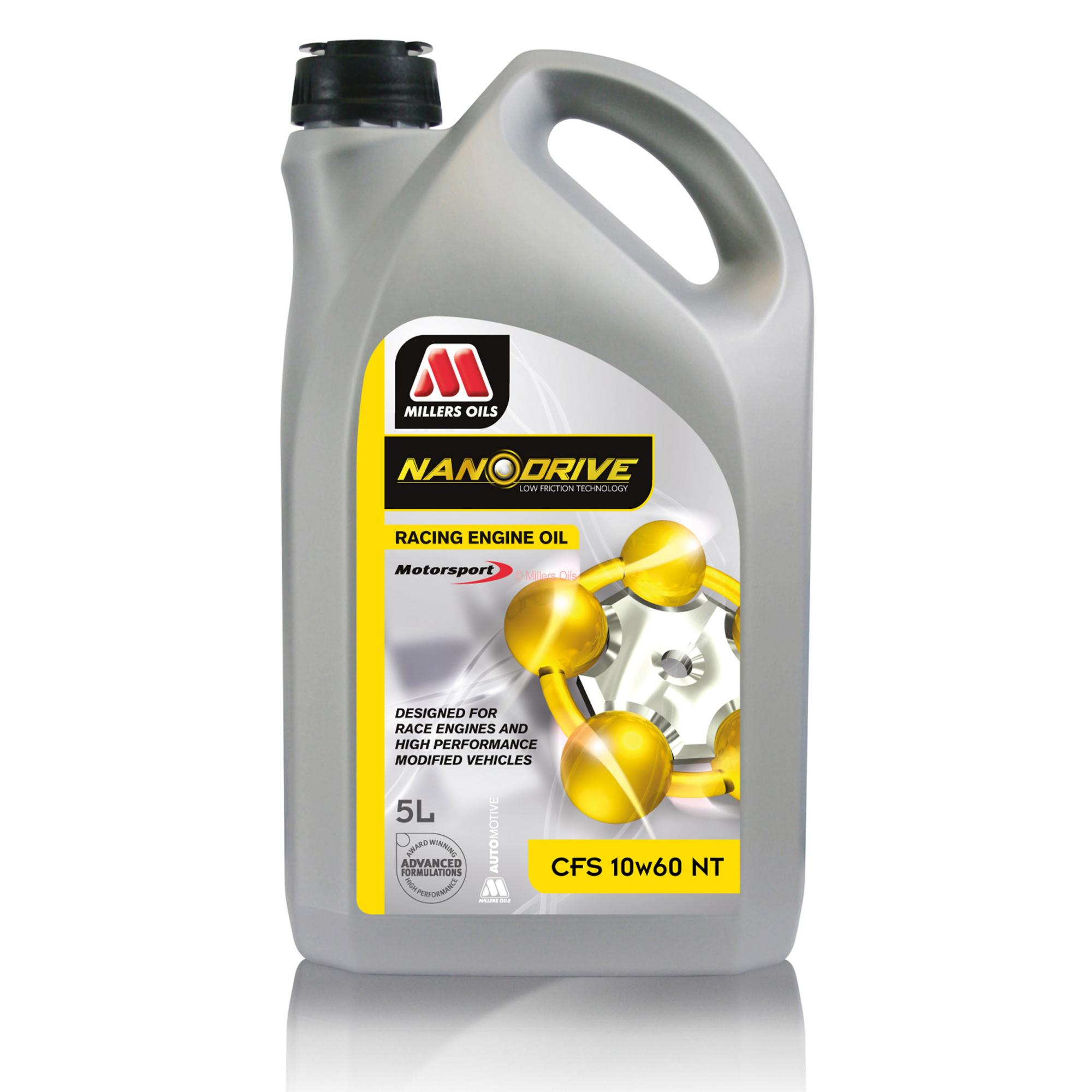 Millers Nanodrive 10w60 Cfs Synthetic Engine Oil From