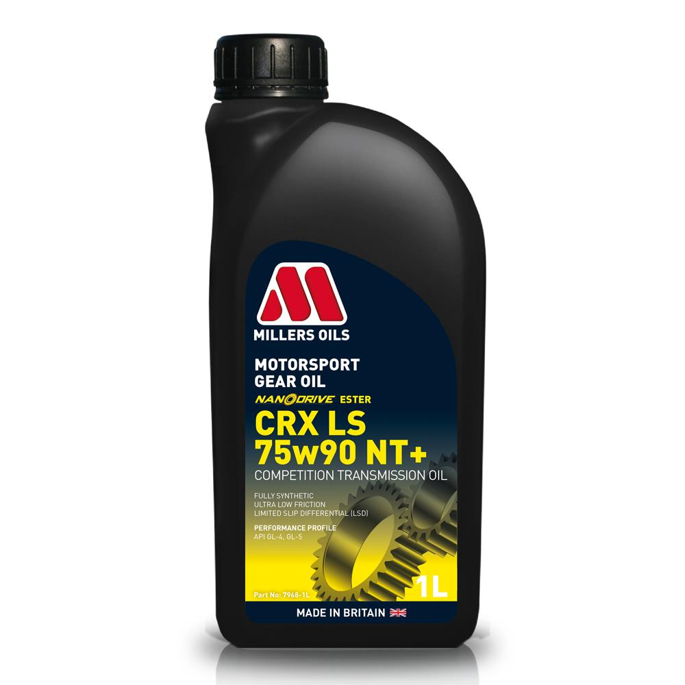 Millers CRX 75W90 NT Synthetic Limited Slip Diff Oil (1 Litre)