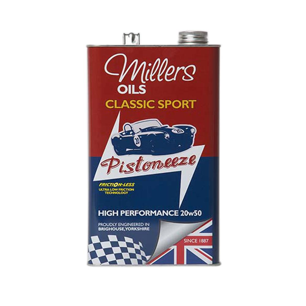 Millers Classic Sport High Performance 20W50NT Fully Synthetic Oil (5 Litres)