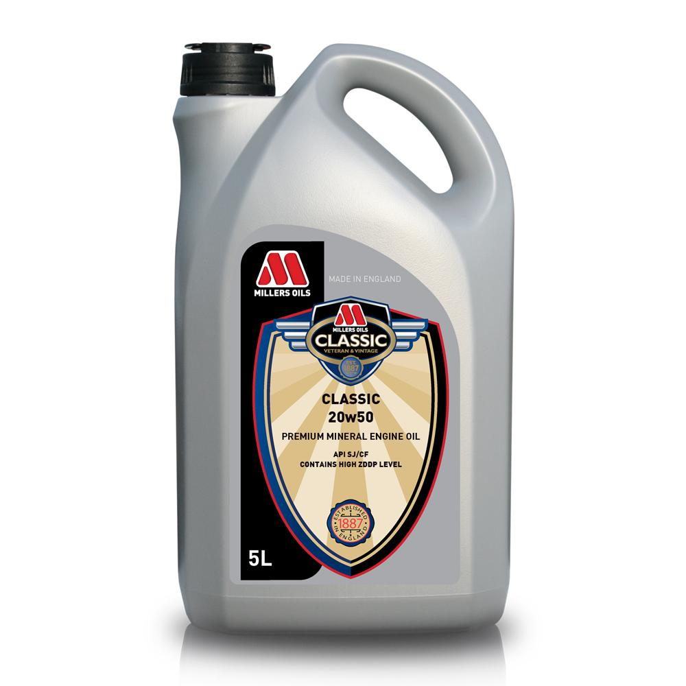 Millers classic 20w50 mineral engine oil from merlin for Classic motor oil 20w50