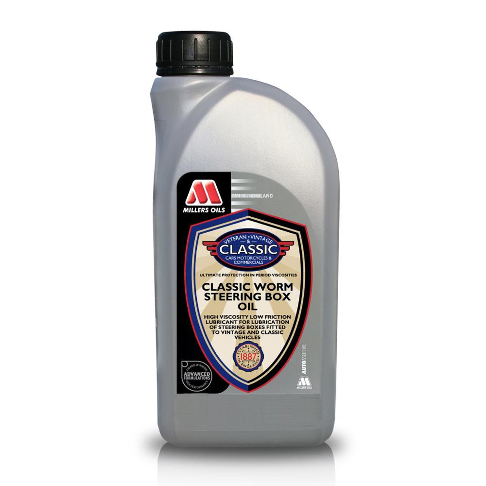 Millers Classic Worm Steering Box Oil (1 Litre)