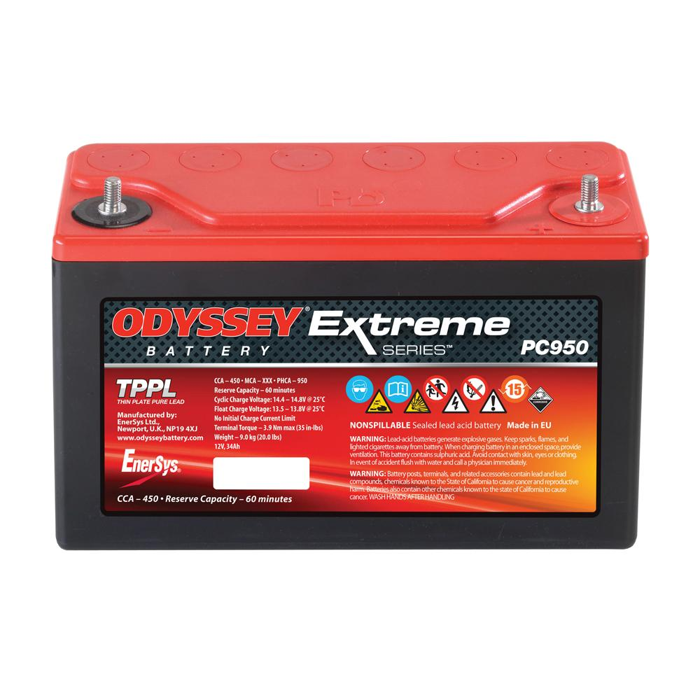 Odyssey Extreme Racing 30 Battery (PC950)