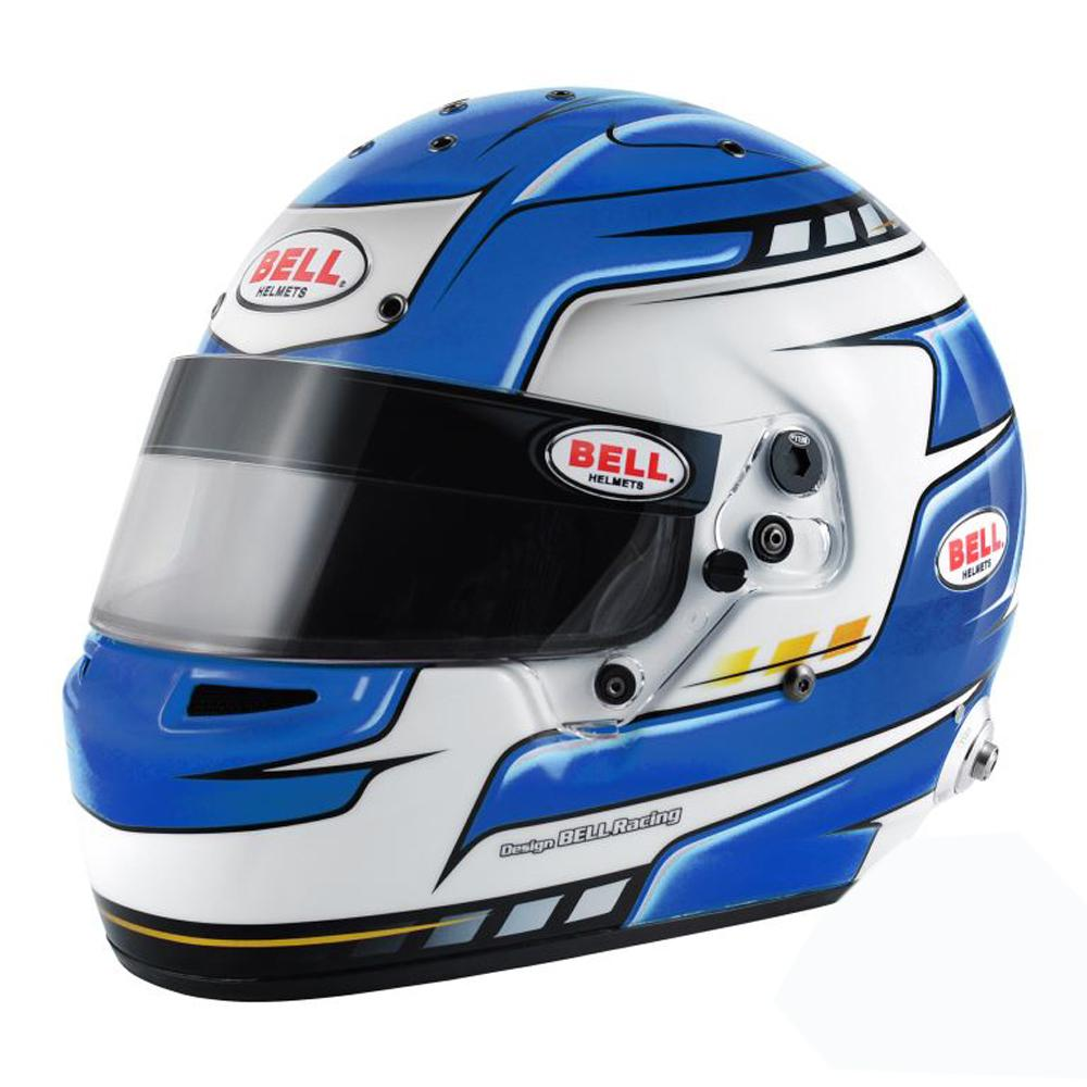 Bell RS7 Pro Helmet Falcon Blue - FIA 8859-2015 Approved