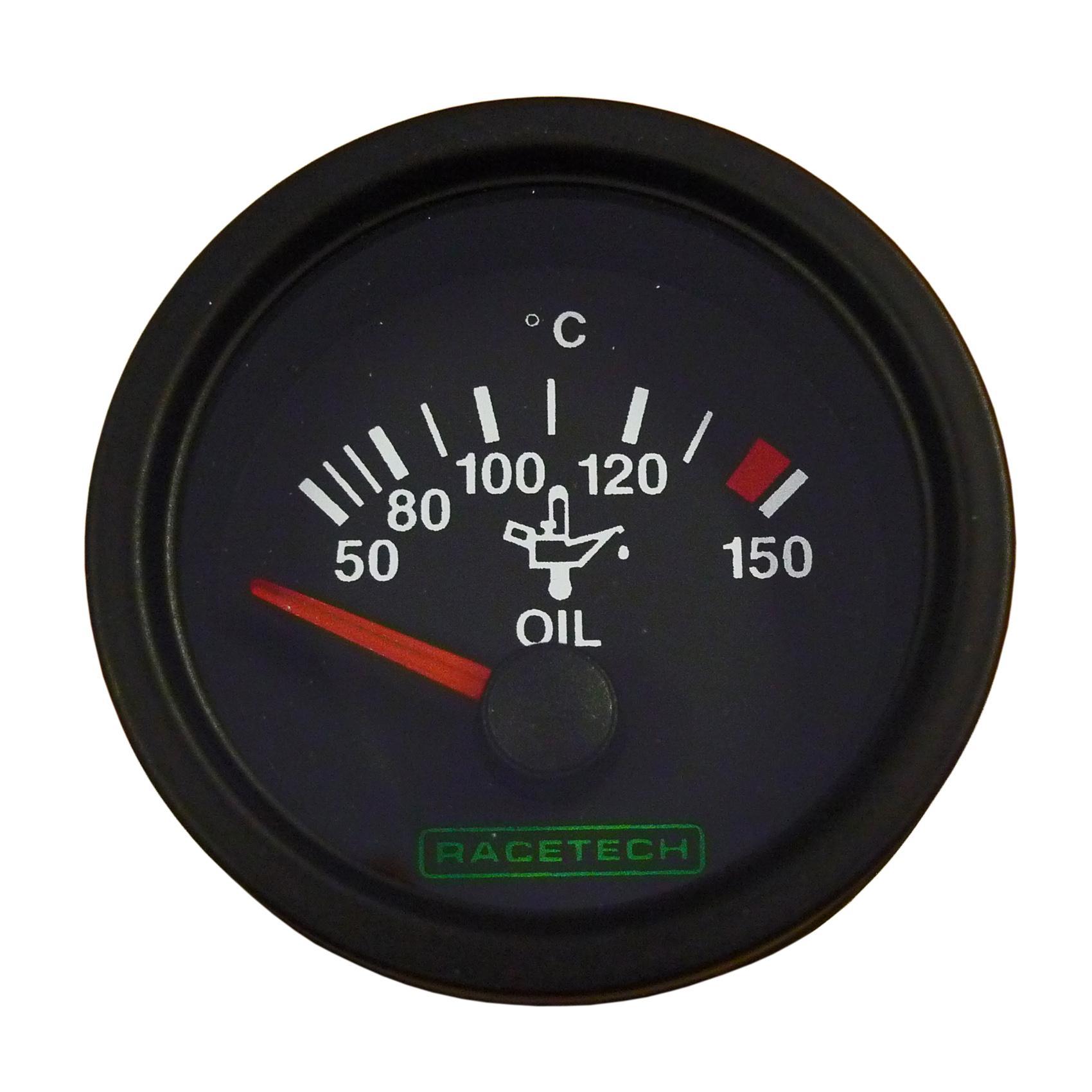 Racetech Electric Oil Temperature Gauge from Merlin Motorsport