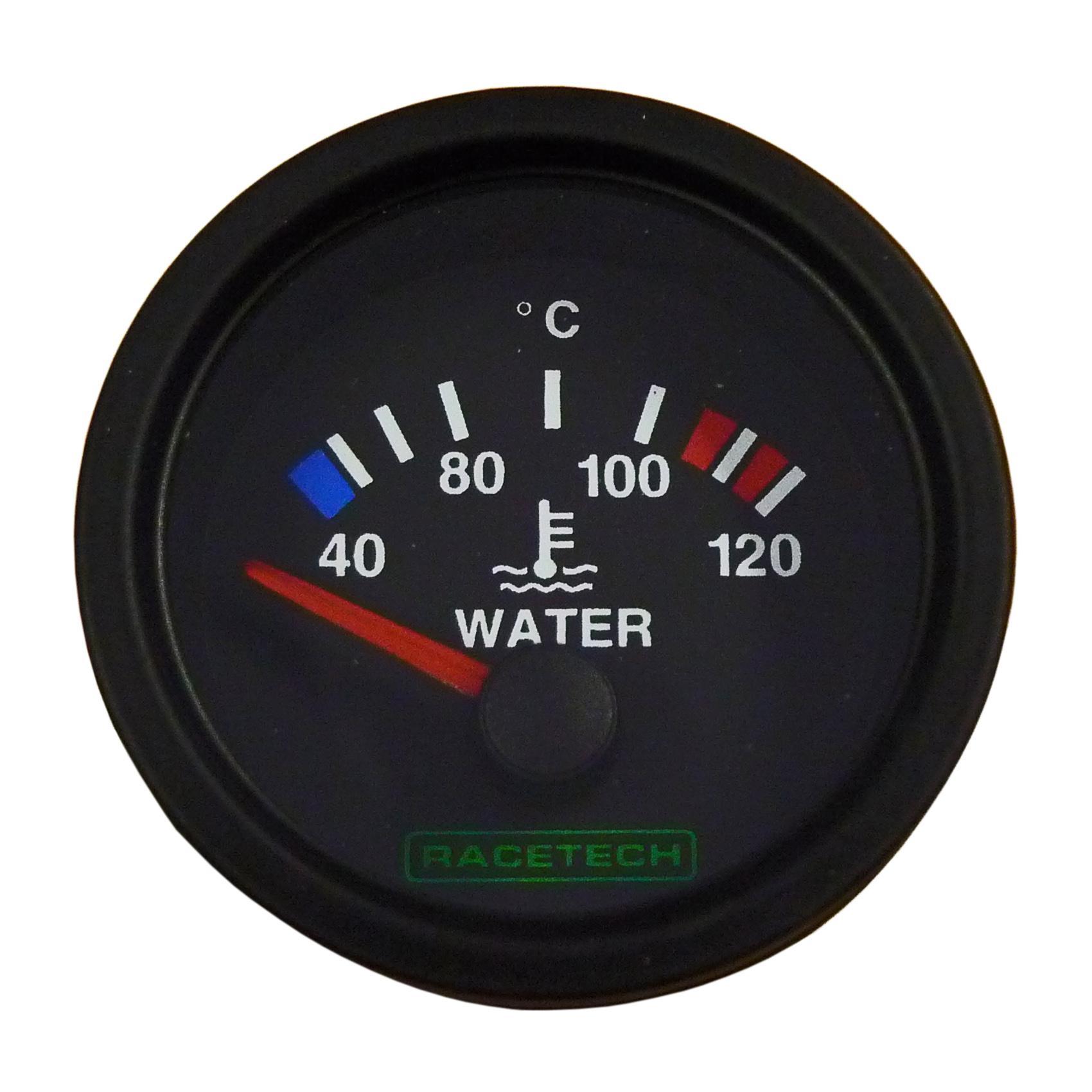 Racetech Electric Water Temperature Gauge from Merlin Motorsport