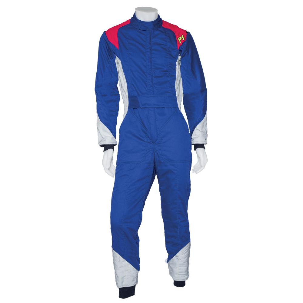 P1 Smart-X Race Suit - 2 Layer FIA 8856-2000 Approved Suit in Blue