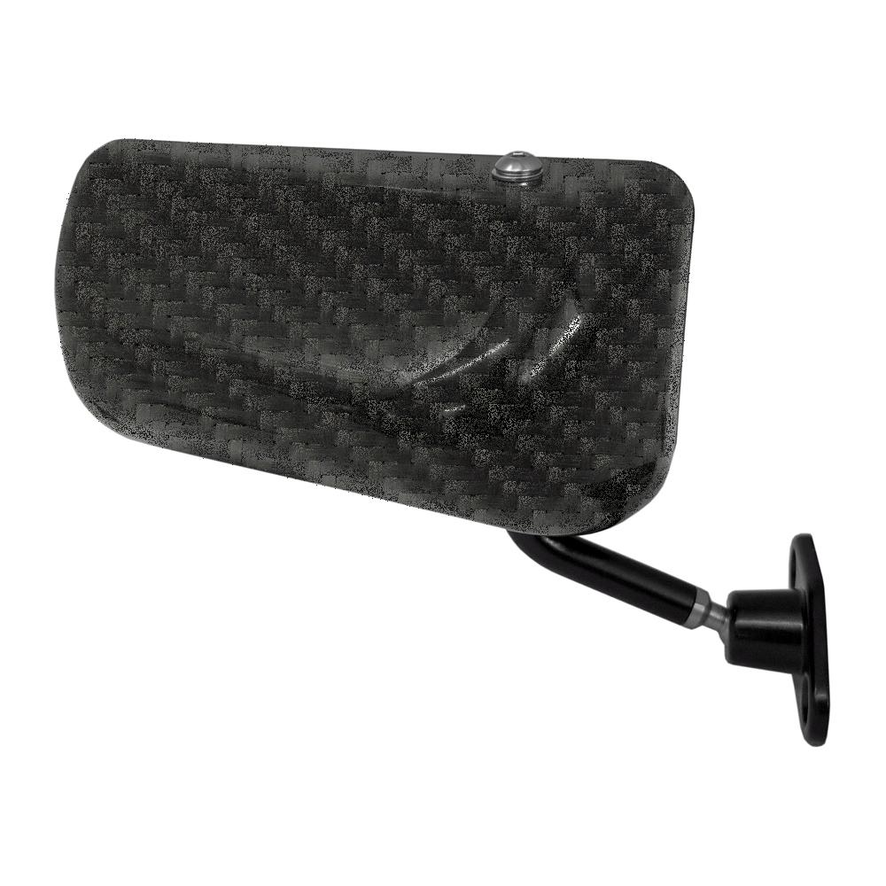 SPA Touring Car Mirror Carbon Fibre Right Hand with Convex Lens