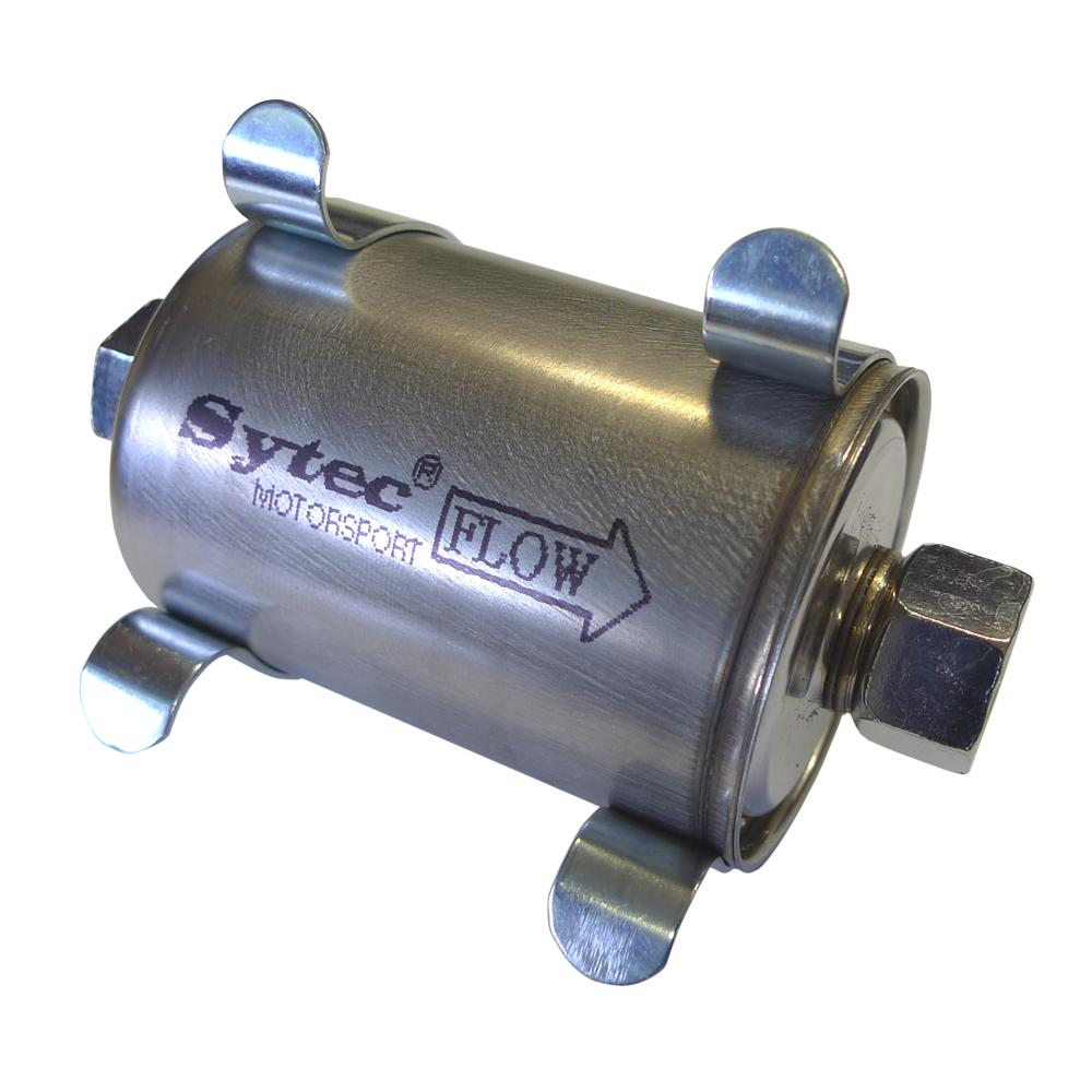 Sytec Motorsport Fuel Filter With Mounting Clips From Merlin