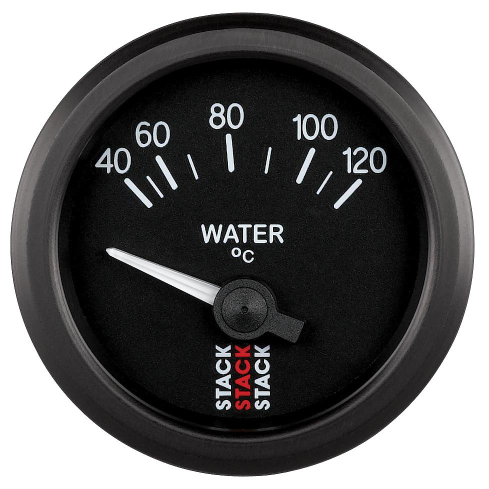 Stack Electric Water Temperature Gauge 40-120°C ST3207
