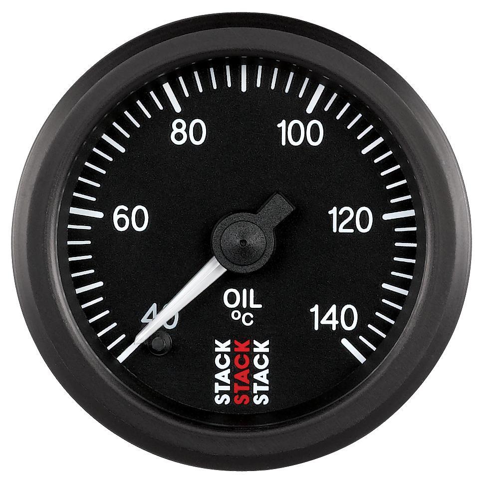 Stack Professional Oil Temperature Gauge 40 140 176 C St3309