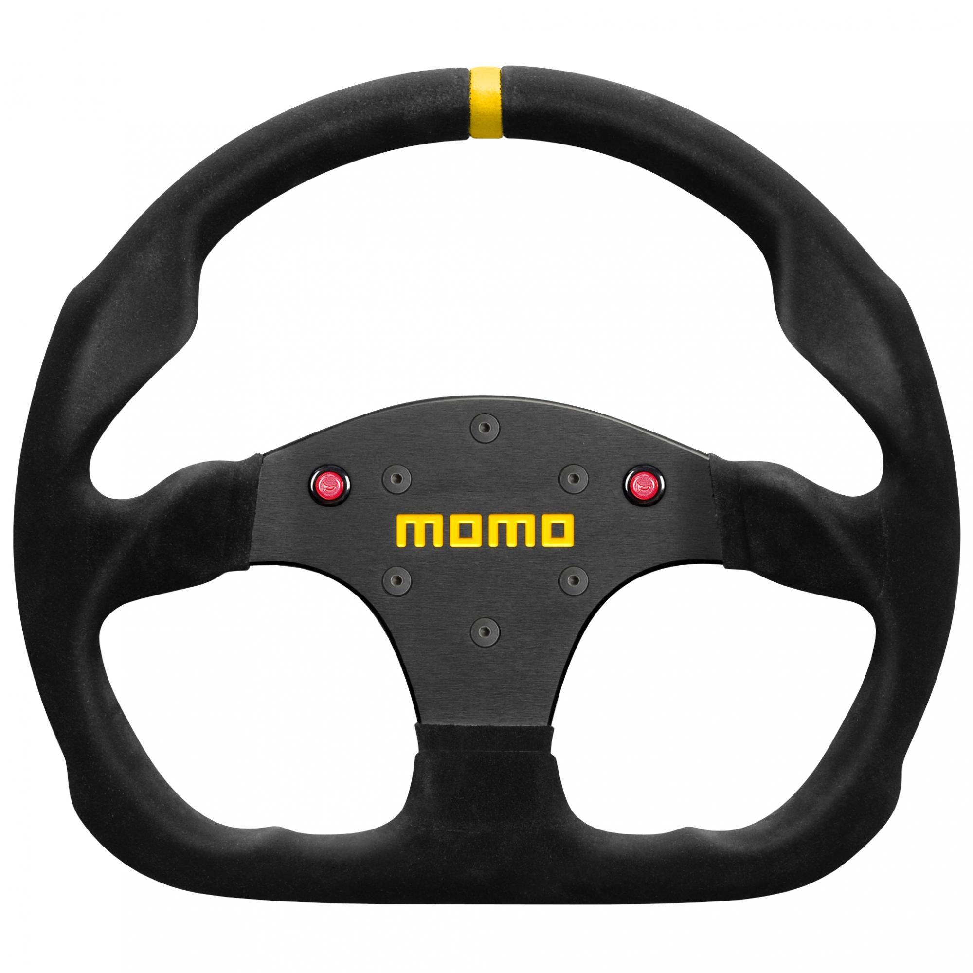 Momo Steering Wheel Suede Momo Model 30 Suede Steering