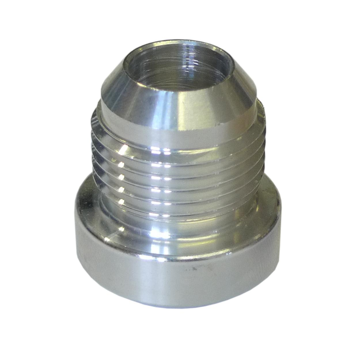 Jic round male fitting weld on alloy fabrication
