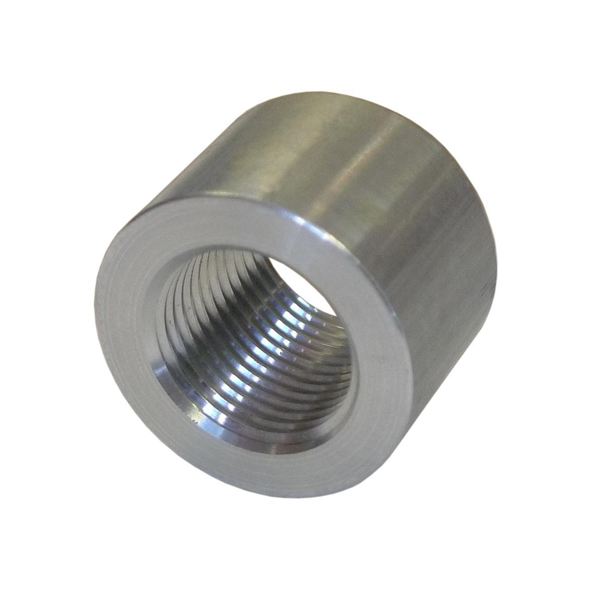 Npt round female boss weld on fitting alloy fabrication