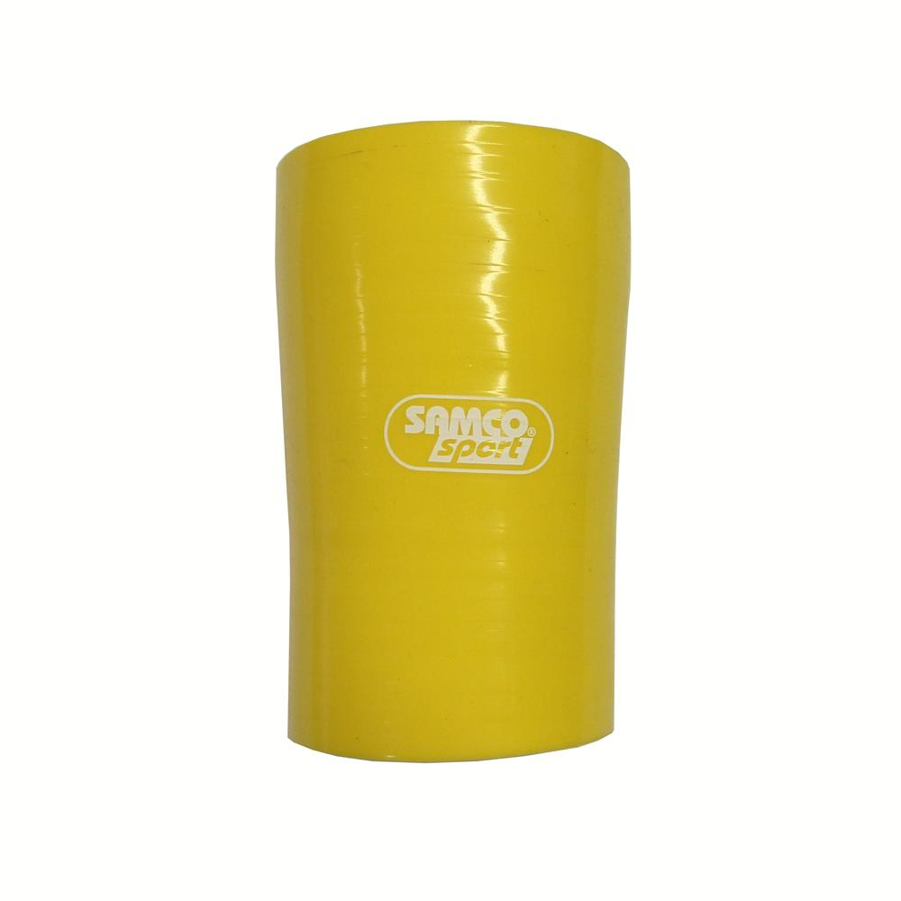Samco 57mm>51mm Silicone Hose Reducer in Yellow